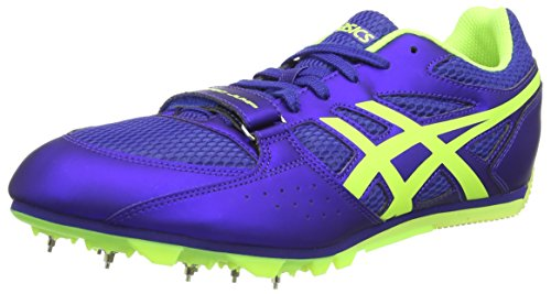 ASICS Turbo Jump 2, Chaussures Multisport Outdoor Hommes Bleu (Atomic Blue/Flash Yellow/Blue 4807)