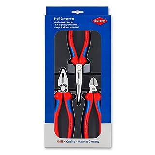 Knipex 00 20 11 – Montage-Paket mit drei Zangen