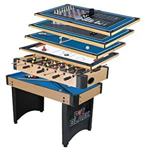 Pot black 10 in 1 multigame table sports for 10 in one games table
