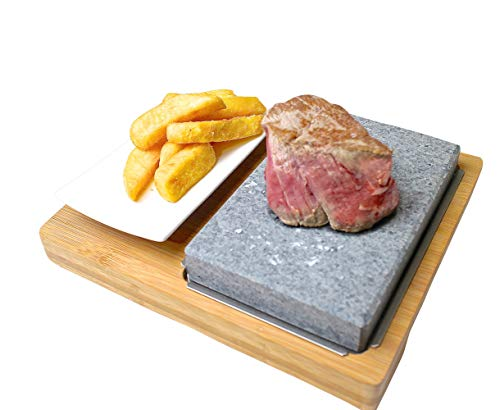 Lavastein-Set / Lavastein-Steak-Set