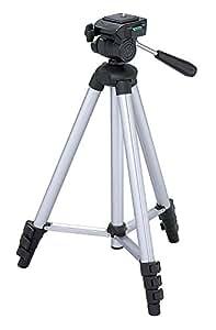 """Maxsimafoto - MSF312 Tripod - 128cm (50"""") PORTABLE for Nikon P900, P500, P510, P520, P530, P600, P610, P900, L310, L320, L510, L520, L530, L810, L820, L830, L840 Sony HX200V, HX300, H400, Fujifilm S1, HS25, HS30, HS33, HS50, S4500, S8600, S4800, S8200, S9200, S2995, S2980, SL245, SL1000, S1, Olympus SP810, SP620, Canon SX50 SX500 SX510 SX520 SX530"""