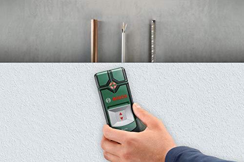 Bosch DIY Ortungsgerät Truvo, 3 x AAA Batterien, Verpackungsbox (Max. Ortungstiefe eisenhaltige Metalle/ nicht eisenhaltige Metalle/ spannungsführende Leitungen: 70 mm/ 60 mm/ 50 mm) - 3