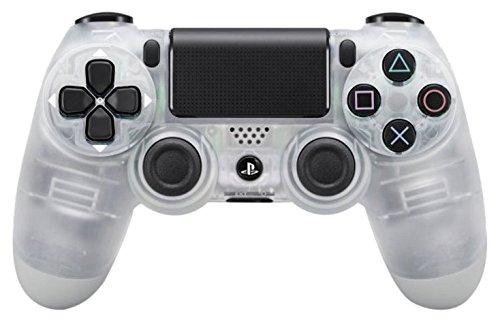 Sony - Dualshock 4 Mando Inalámbrico, Color Crystal (PS4)