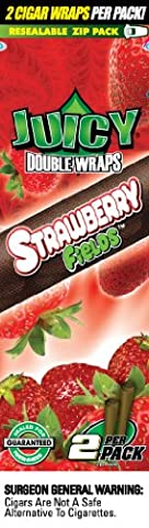 Juicy Double Wrap Strawberry Fields 25 Doublepacks (50 pieces total)