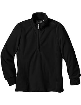 CMP Fleeceshirt - Chaqueta de esquí para niño, color negro, talla 104