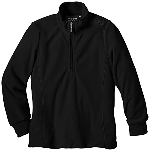 CMP Mädchen Fleece Shirt, Nero, 104 -