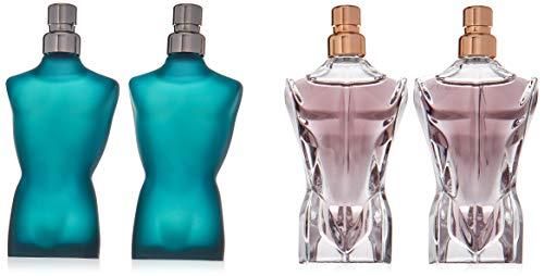 Jean Paul Gaultier Le Male Gift Set 2 x 7ml EDT + 2 x 7ml Essence de Parfum -