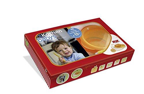 Preisvergleich Produktbild Kochen für Babys - Geschenkbox: Mit NUK-Esslern-Schale und 2 Lätzchen