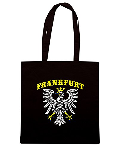 T-Shirtshock - Borsa Shopping TSTEM0165 frankfurt germany (3) Nero