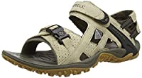 Merrell Kahuna IIi, Men's Hook and Loop Outdoor Sandals - Classic Taupe, 9 UK
