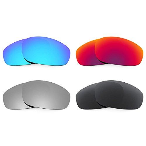 Revant Ersatzlinsen für Oakley Split Jacket Polarisiert 4 Paar Kombipack K019