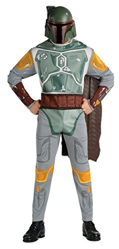 Boba Fett Herrenkostüm aus Star Wars, Größe:XL (Fett Halloween Kostüme Für Erwachsene)