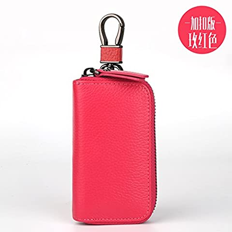 JTRAIL-leather key holder male leather key case ladies men leather