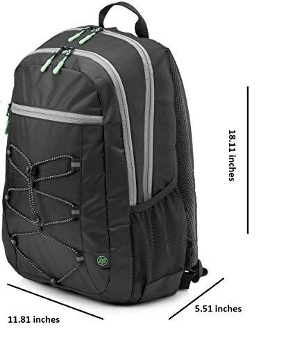 HP Active 15.6-inch Laptop Backpack (Black) Image 4