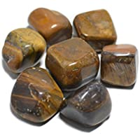 Humunize Glaube Heilung Tigerauge Trommelsteine Reiki Healing Kristallschmucksteine Verschiedene Größen Feng... preisvergleich bei billige-tabletten.eu