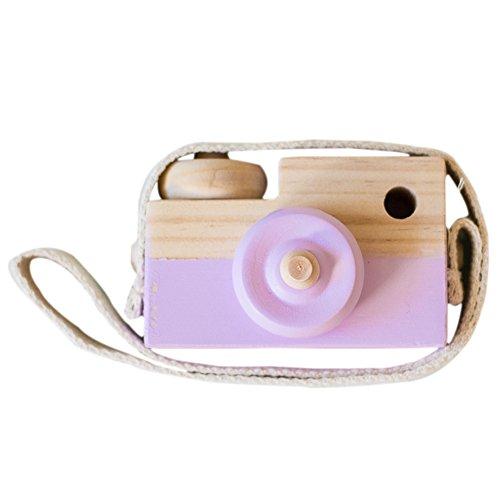 Wingbind Mini-Kamera, nordischen Stil aus Holz handgefertigt, Home Schlafzimmer/Party/Hochzeit/Geburtstag/Kinderzimmer/Cradle/Baby-Dusche/Foto-Shooting hängende Dekoration