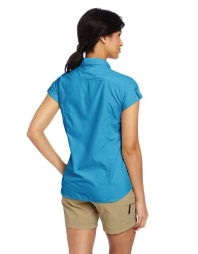 exofficio Damen dryflylite Cap Sleeve Shirt Mediterranean