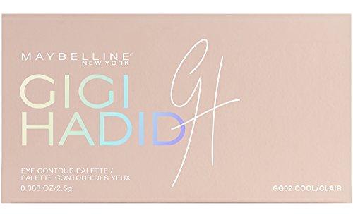Maybelline New York Collezione Gigi Hadid East Coast Glam Look Palette Ombretti per Contouring Occhi in Edizione Limitata, Cool