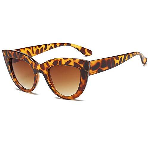 XZANTE Neue Katze Augen Frauen Sonnenbrille Objektiv M?nner Vintage Geformte Sonnenbrille Weibliche Brillen Sonnenbrillen (Schildpatt +)