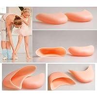 jytop® 2Paar Gel Pointe Toe Cap, weiche Pads Displayschutzfolie für Pointe Ballett Schuhe New Silikon Gel Zehen... preisvergleich bei billige-tabletten.eu