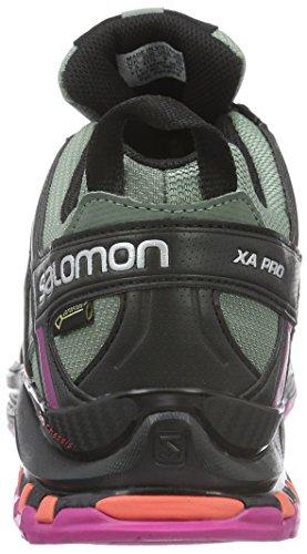 Saucony Damen Xa Pro 3d Gtx Traillaufschuhe Grau (Light Titan/BLACK/CORAL Punch)