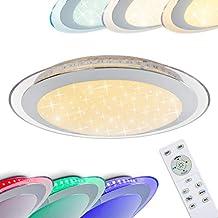 LED RGB 20W-54W Deckenlampe Farbwechsel Deckenleuchte Dimmbar mit Fernbedienung