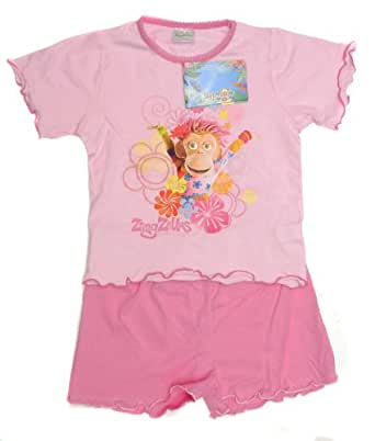 Boys and Girls Shortie Character Pyjamas - Bart Simpon - ZingZillas - Winnie the Pooh in Kids age 1 - 10 years ZINGZILLAS PINK 2-3