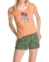 Esprit Pailletten - T-shirt - Manches courtes - Femme