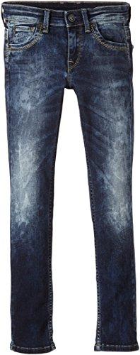Pepe Jeans Jungen Jeans CASHED, Einfarbig, Gr. 140 (Herstellergröße: XS), Blau (DENIM 000)