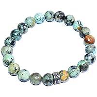 Bracelet African Firoza (Turquoise) Diamond Cut 8 MM Birthstone Handmade Healing Power Crystal Beads preisvergleich bei billige-tabletten.eu