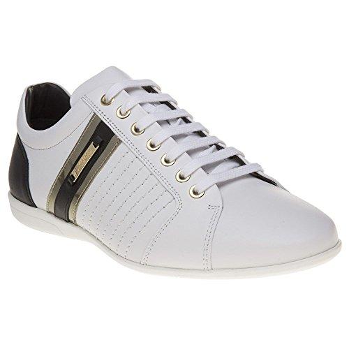 686e9a9ecc82 Versace Collection Formal Homme Baskets Mode Blanc