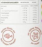 Kollagen mit Elastin und Hyaluronsäure | Kollagen Hydrolysat Peptide Type I, II und III | Ohne Zusatzstoffe | Geschmacksneutral | 450 Gramm