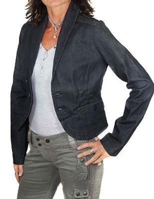 Diesel Women's PlainSuit Jacket Blue Dark blue