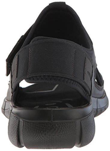 Ecco Damen Intrinsic Sandal Offene Keilabsatz Schwarz (51052black/black)