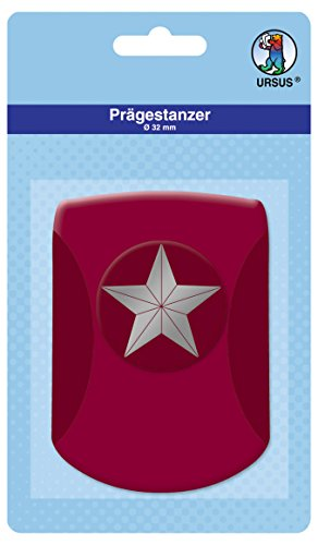 Ursus-19670026-Prgestanzer-Stern-Motivgre-circa-32-mm-rosa