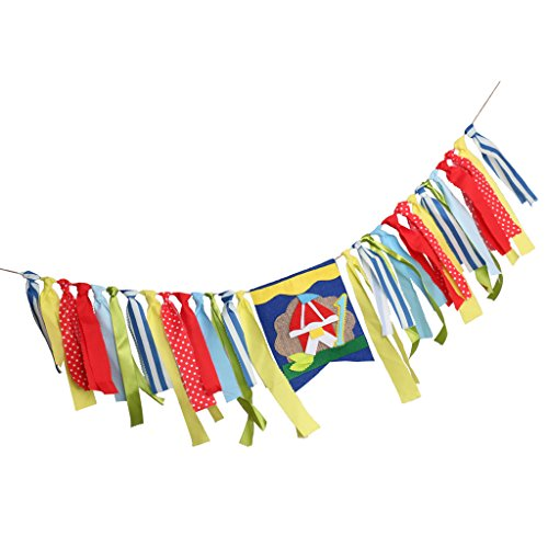 landen Wimpel Girlande Bunting Banner - Zirkus ()