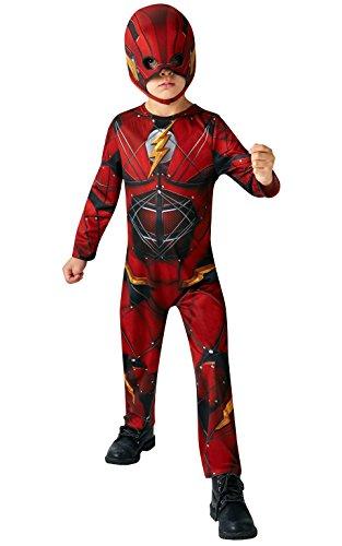 Rubie's Kinder-Kostüm The Flash, offizielles DC Justice