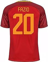 2017-18 Roma Home Shirt (Fazio 20)