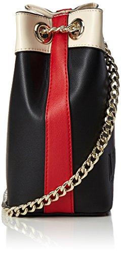 Love Moschino Love Moschino, Sacs portés épaule Noir (Black Stripes)