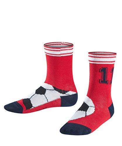 FALKE Jungen Soccer Socken, red pepper, 31-34
