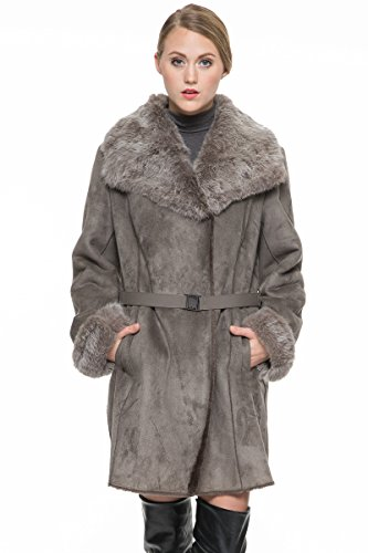 adelaqueen-womens-faux-suede-lapel-coat-with-lush-rex-rabbit-fur-collar-cuffs-size-m