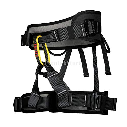 XYQY Klettergurt Half Body Safety Harness Sitzgurt Sitzgurt Rock Tree Climbing Abseilen Absturzsicherung Schutzausrüstung