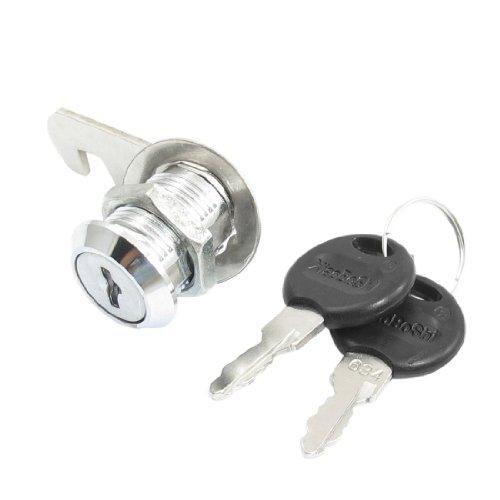 Office Mailbox-Schublade 23mm Kopf Dia Metall Cam Lock mit 2Schlüsseln