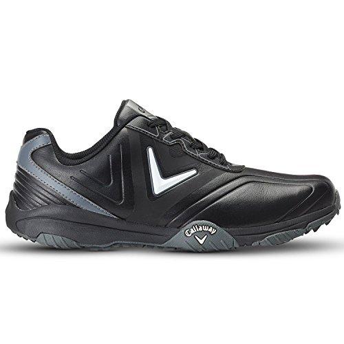 Callaway  38M543BKS12018, Herren Golfschuhe schwarz schwarz (Black /   Plata) 46 EU