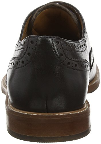 Aldo Bartolello - Brogue uomo Nero (Black Leather/97)