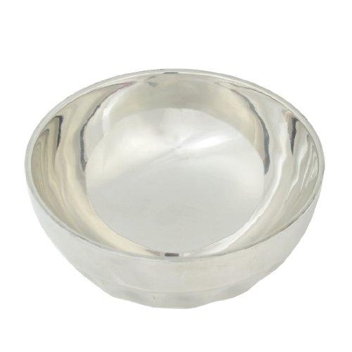 Vajilla del acero inoxidable calorífugo cenar comida de arroz de 12,7 cm...