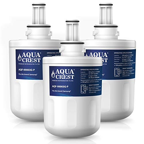 AQUACREST Kühschrank Wasserfilter, kompatibel mit Samsung Aqua Pure PLUS DA29-00003G, DA29-00003B, DA29-00003A, DA97-06317A, HAFCU1/XAA, HAFIN2/EXP (3)