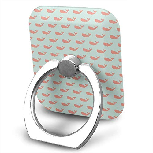 Nicegift Preppy Whale Spa 360 Rotating Phone Metal Buckle Tablet Finger Grip Ring Stand Holder Kickstand for All Phones Tablets