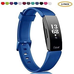 FatcatBand Kompatibel für Fitbit Inspire & Fitbit Inspire HR Armband,Atmungsaktiv Verstellbares Ersatz weiches Silikon Sporty Wrist Strap Band Armbanduhr Armbänder für Fitbit Inspire/Inspire HR