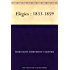 Elégies : 1833-1859